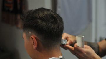 Barber Giving Haircut in Ottawa